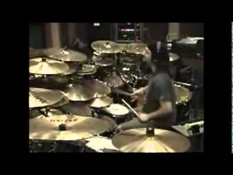 Mike Portnoy recording As I Am Studio - Dream Theater
