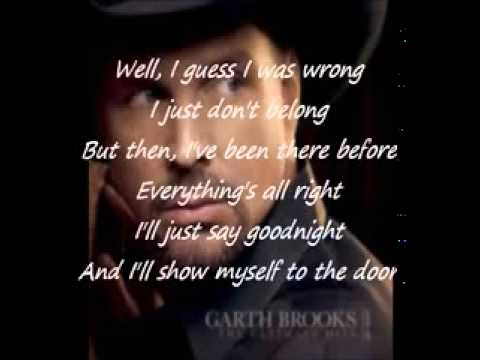Friends in low places lyrics Garth Brooks