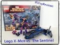 Lego X Men vs The Sentinel Marvel Super Heroes 76022 Open Box Review