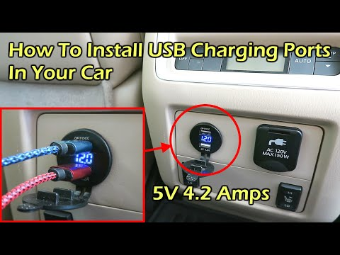 How To Install USB Charge Ports In Your Car - Nissan Pathfinder