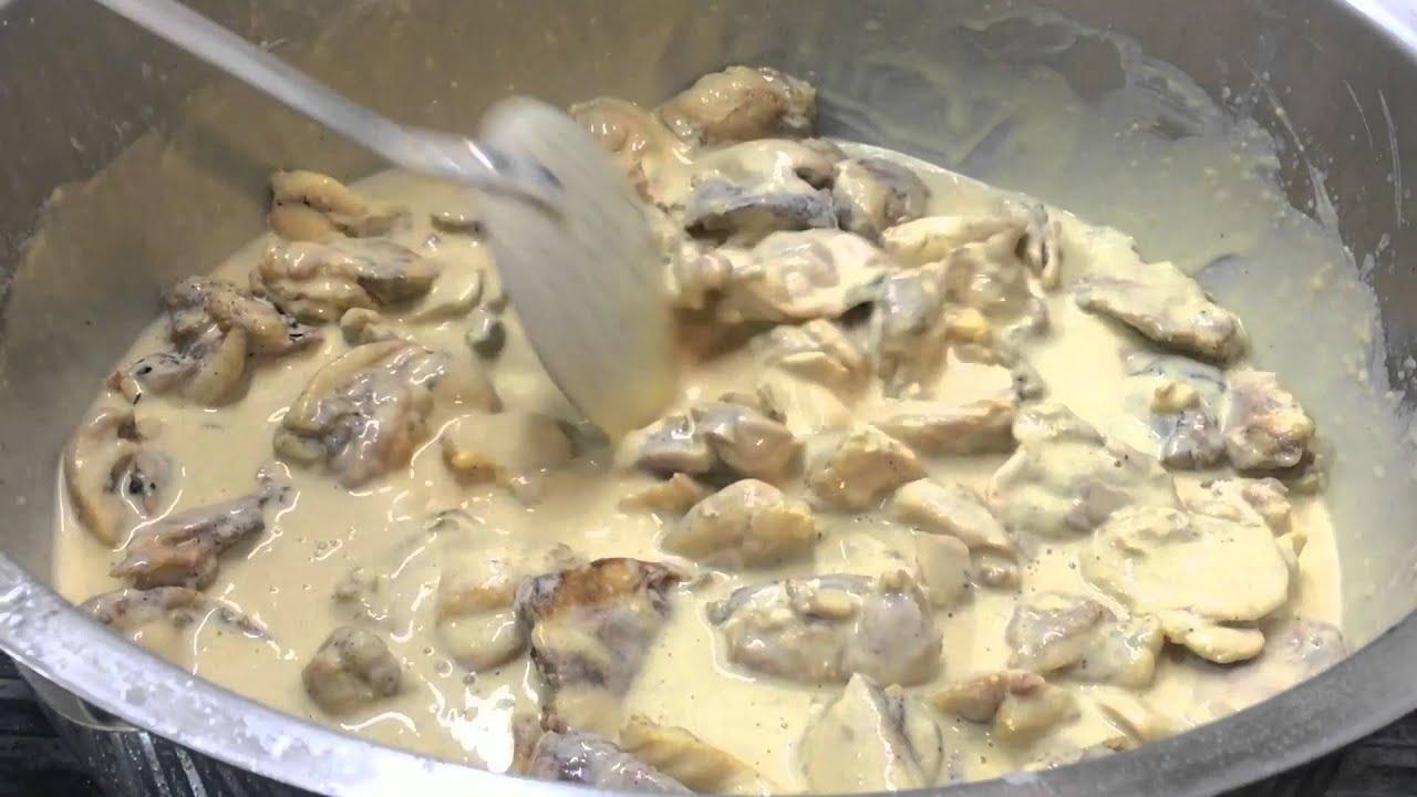 Köri Soslu Mantarlı Tavuk Yapılışı Videosu