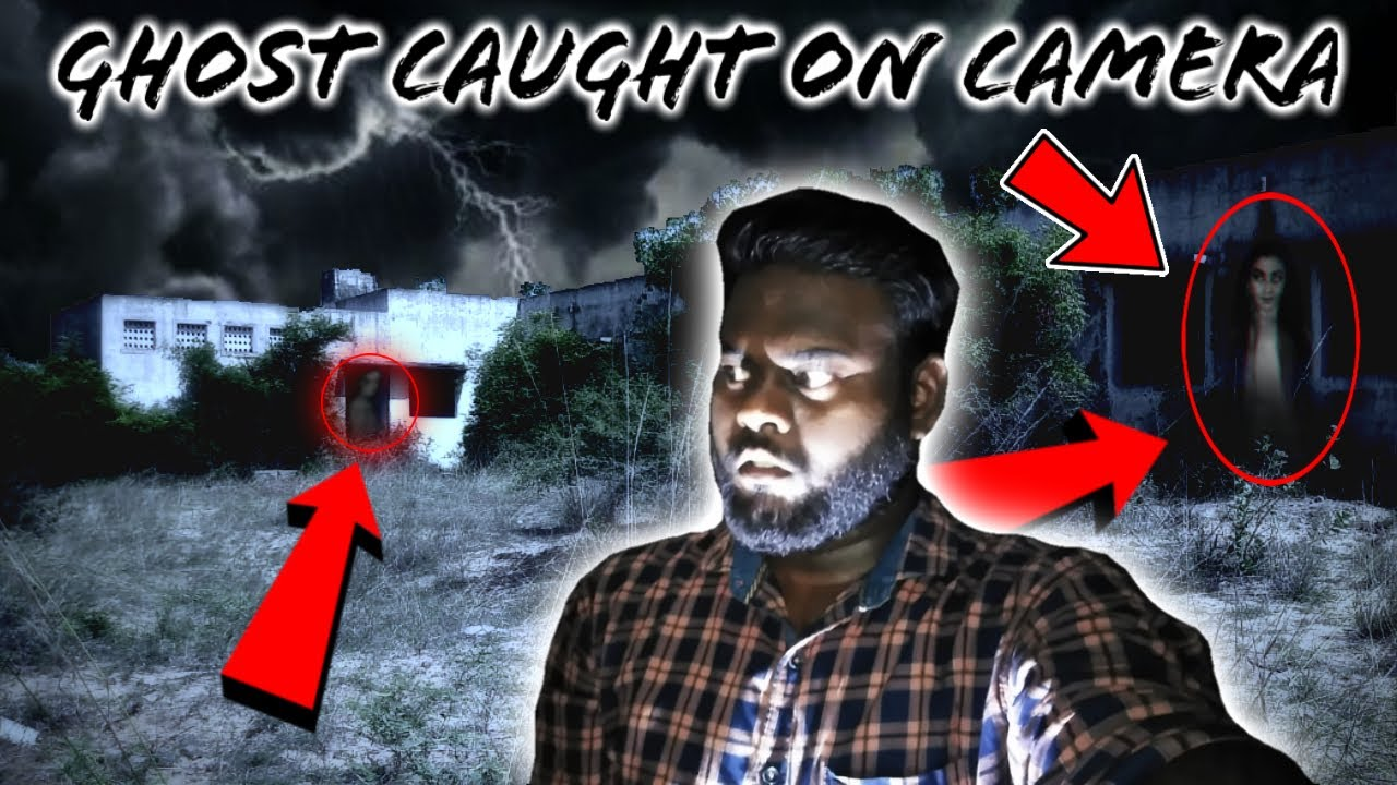Exploring At Haunted Abandoned High School ( Real Ghost Caught on Camera )