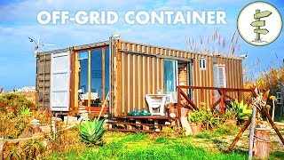 Used 20ft Shipping Containers Turn Into Epic Off-grid Cabin
