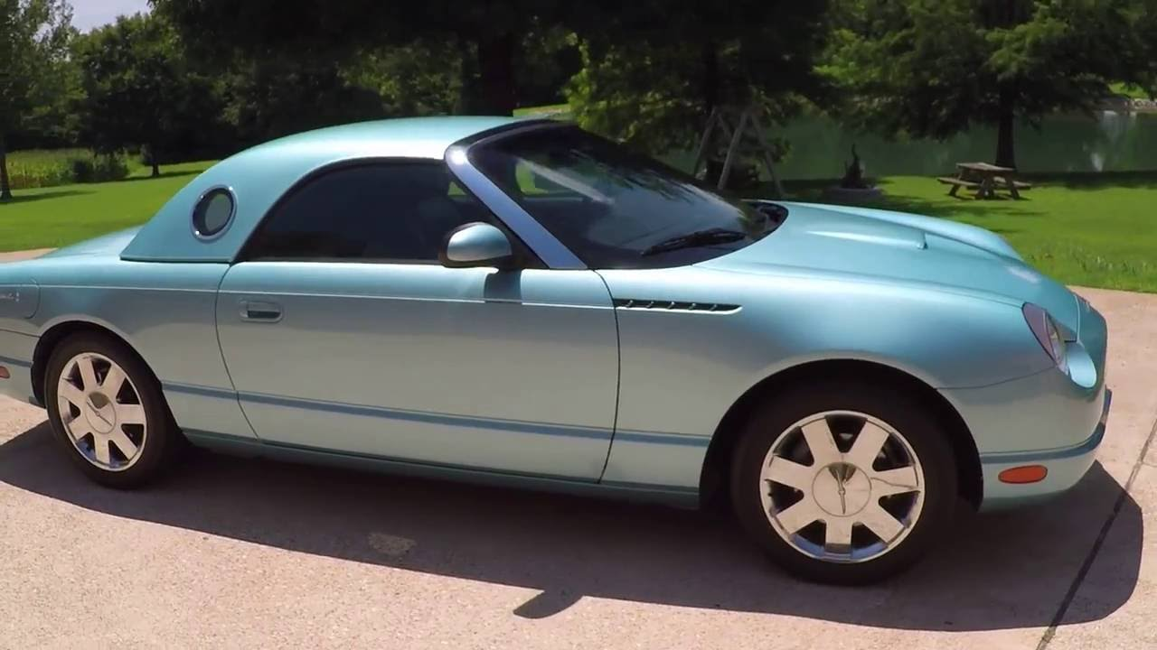hd video 2002 ford thunderbird convertible metallic blue for sale rh youtube com 2002 thunderbird service manual 2002 triumph thunderbird service manual