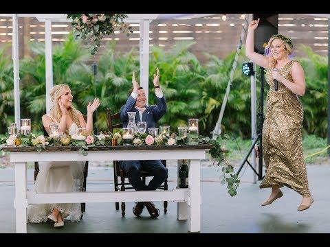 Taylor Swift- Love Story [Parody] Twin Maid of Honor Wedding Toast