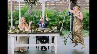 Taylor Swift Love Story [Parody] Twin Maid of Honor Wedding Toast
