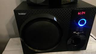 Boytone 210-fd 2.1 speaker review with test