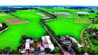 Flycam đường Cau Vua, Tân Trụ, Long An