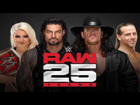 Top 10 Wrestlers que irão aparecer no RAW de 25 anos
