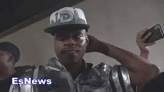 Errol Spence Jr Has. Message for Crawford  EsNews Boxing