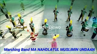 JUARA Di 3 Kabupaten | Marching MA NAHMUS | Undaan
