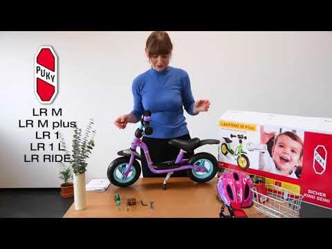 Ubrugte Løbecykel | PUKY LR M, LR M plus, LR 1, LR 1 L og LR Ride - YouTube EC-76