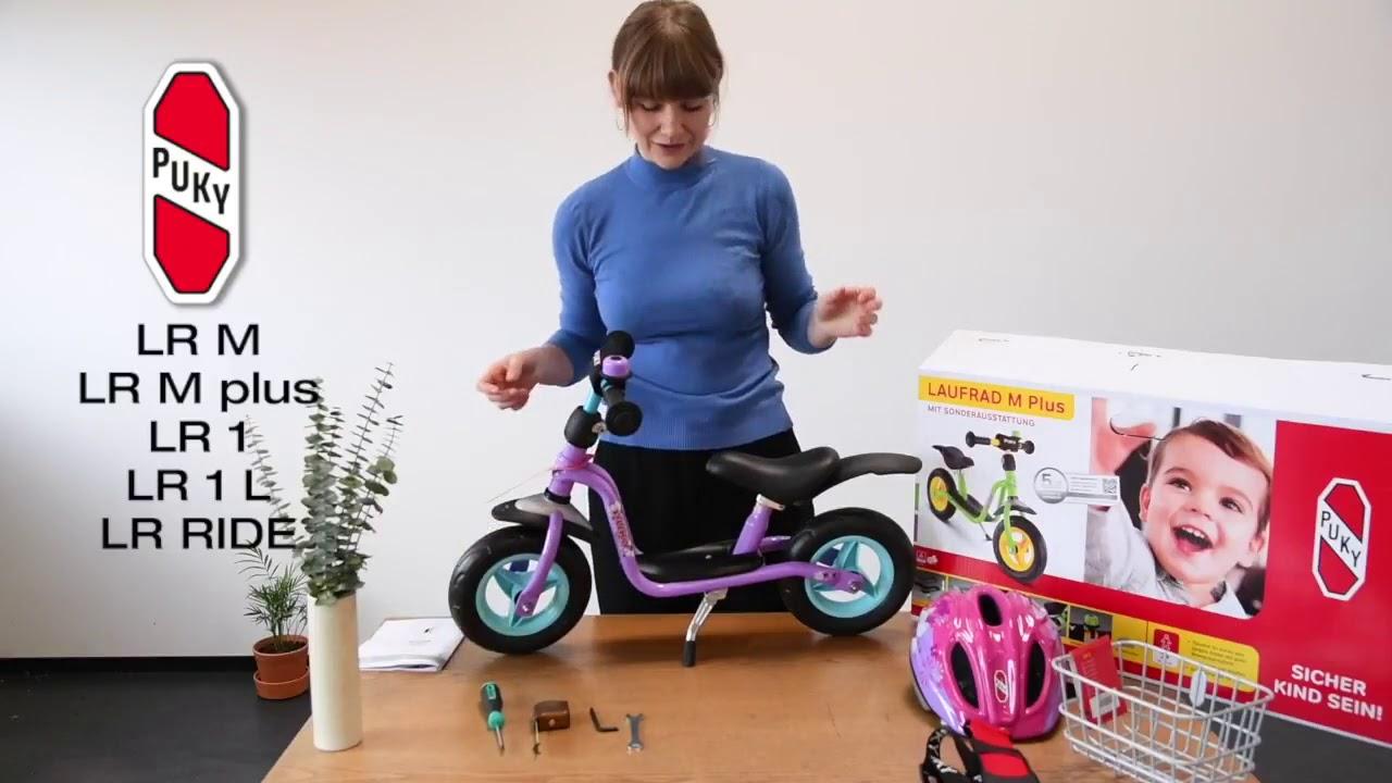 Nye Løbecykel | PUKY LR M, LR M plus, LR 1, LR 1 L og LR Ride - YouTube DH-04