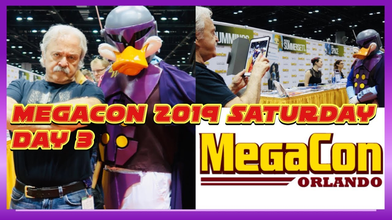 🔴Live:Megacon 2019  Day 3 Saturday