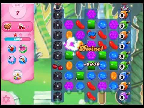 Candy Crush Saga Level 2952 - NO BOOSTERS