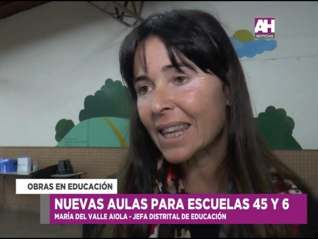 01 VICTOR AIOLA   VALLE AIOLA   SILVIA VIOLANTE   NUEVAS AULAS ESCUELA 45 Y 6