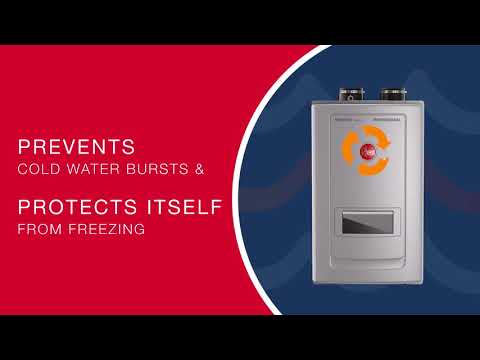 Introducing the High Efficiency Gas Tankless Water Heater with Built-in Recirculation Pump