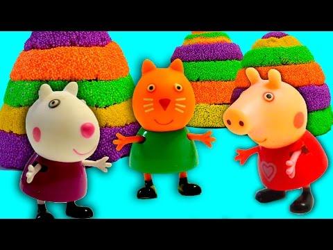 СИМУЛЯТОР СВИНЬИ #5 🐷🐽🐷 Поросенок бегает, все ломает. Играем со свиньёй