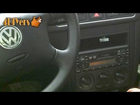 DIY: Volkswagen MKIV Stereo Removal