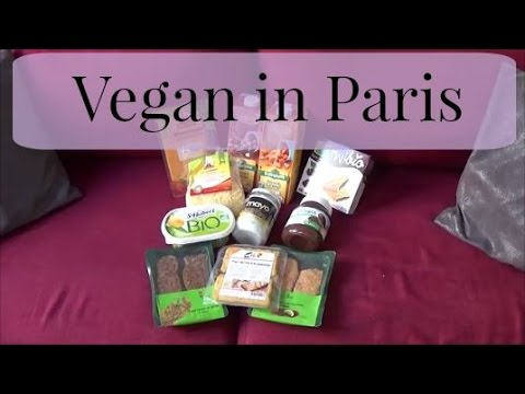 Paris Vegan Supermarket!!