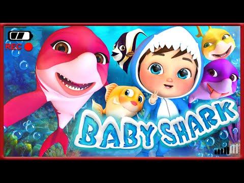 🔴-baby-shark-,-job-song-,-wheels-on-the-bus-,-happy-birthday-song---banana-cartoon