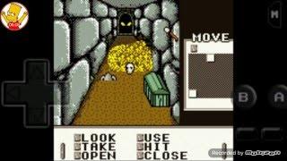 Gameboy games: shadowgate classic