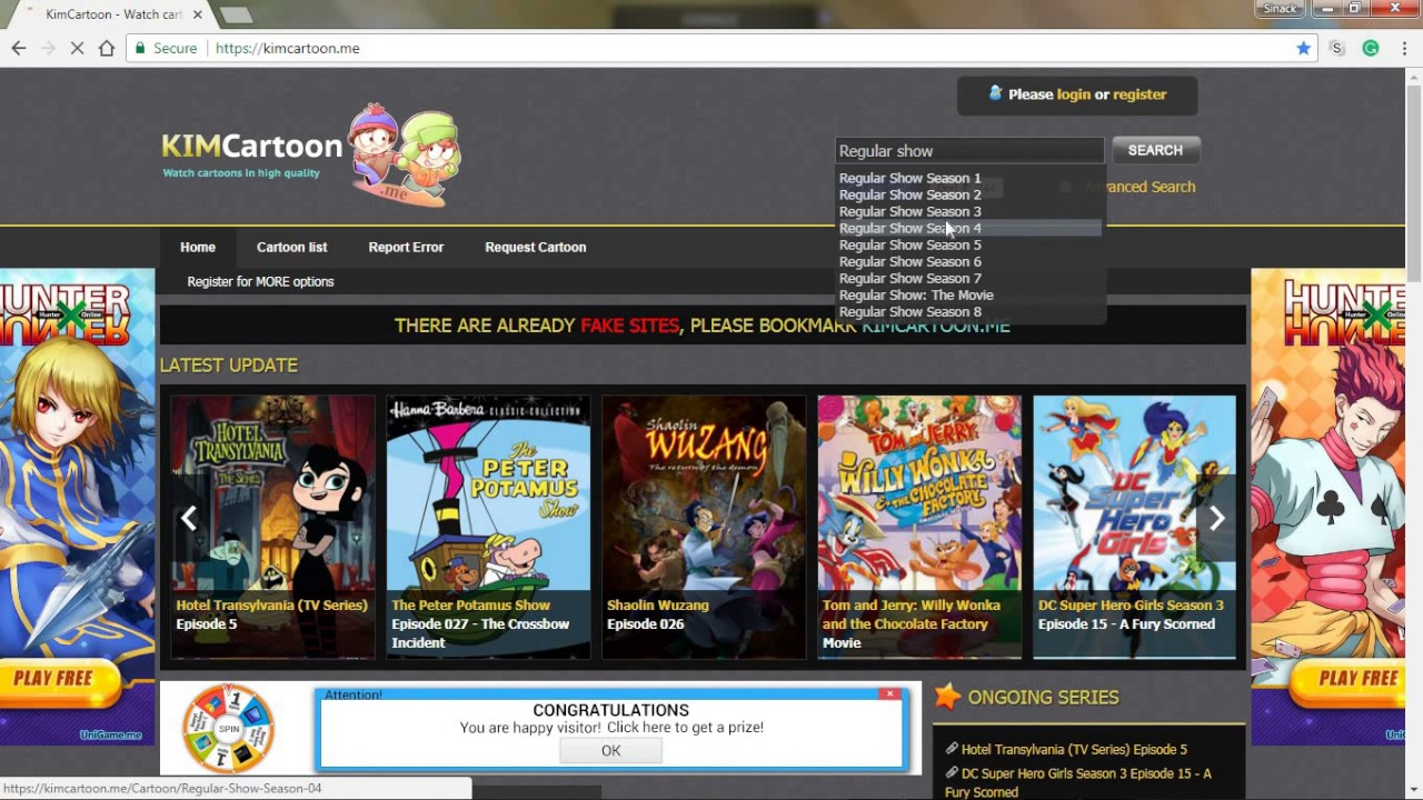 similar site like kisscartoon.me