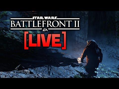 BATTLEFRONT 2 LIVE - Ewok Hunt Is Back & Loyalty Badges Has Arrived!