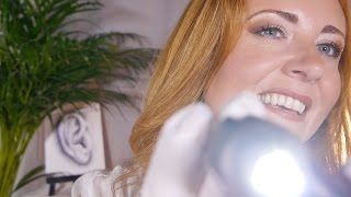 ASMR Ear Cleaning & Massage | Deeply Binaural Gloves, Oil & ...