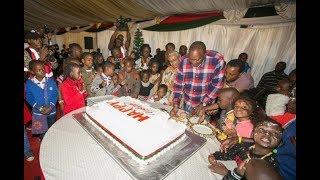 Kenya news today   Uhuru, Margaret showcase 'Odi Dance' moves during Christmas bash