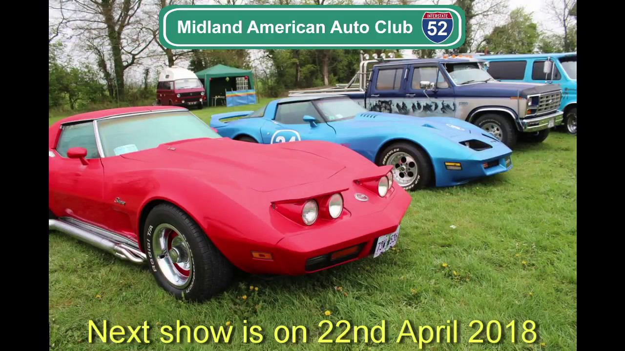Midland American Auto Club 2018 show promo video - YouTube
