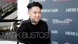 American Salon Magazine Interview W/ MARK BUSTOS - International Beauty Show NYC