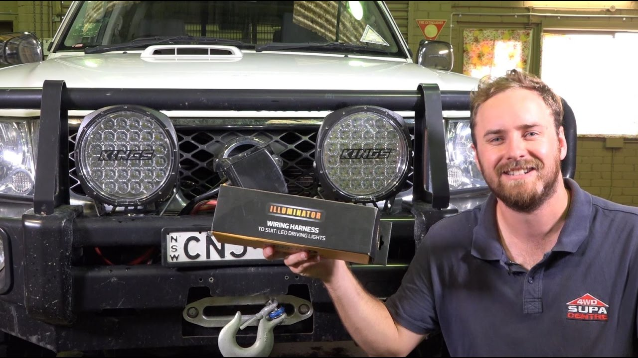 spotlight wiring diagram nissan navara diy install save time and money with the kings wiring harness  kings wiring harness