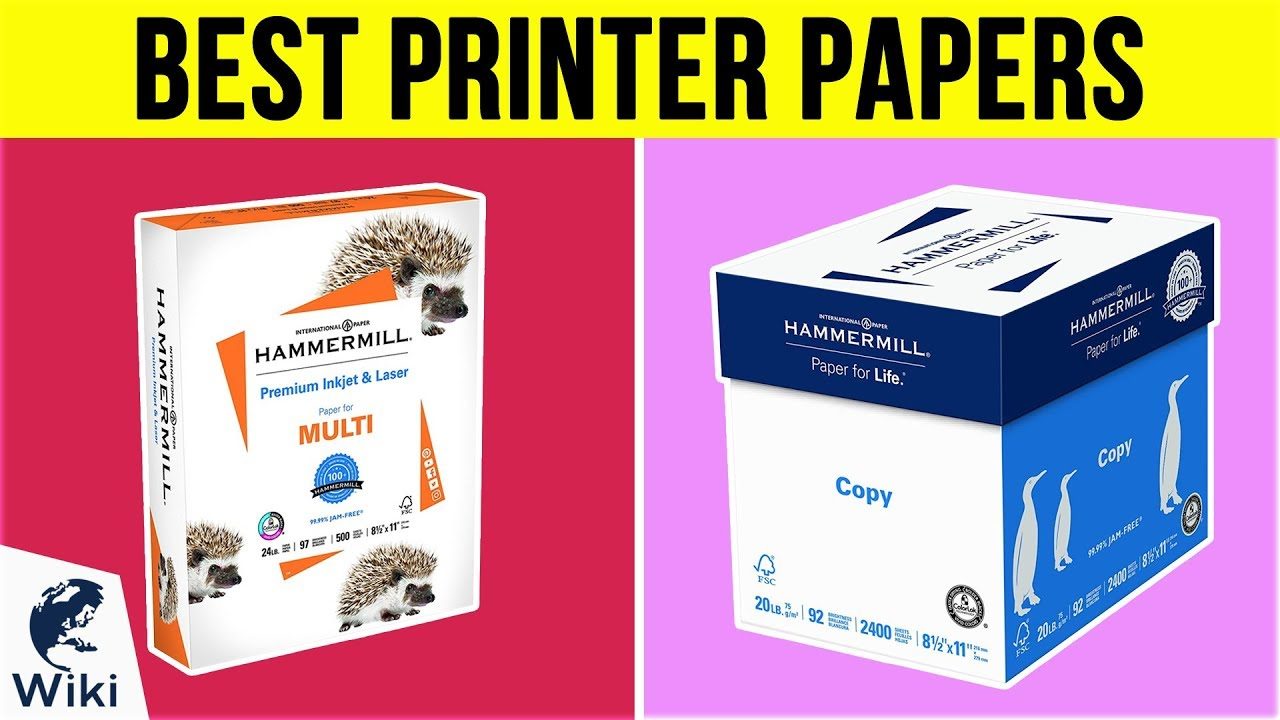 Top 10 Printer Papers of 2019   Video Review