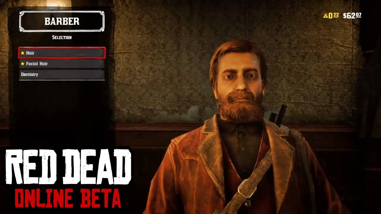 Hair Style Rdr2: Red Dead Online (Cut Hair, Shave