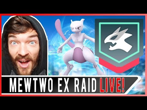 POKEMON GO MEWTWO EX RAID! My 8th EX Raid Pass in Pokemon GO!