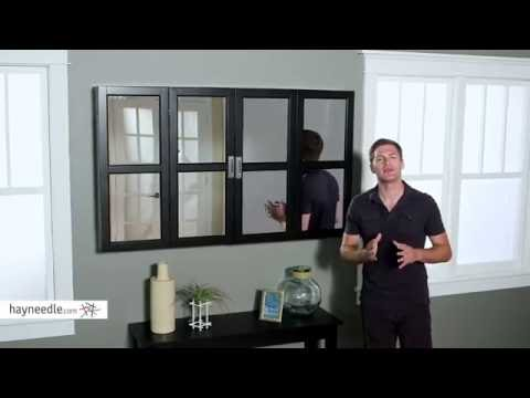 Belham Living Augusta Window Pane TV Wall Cabinet   Product Review Video