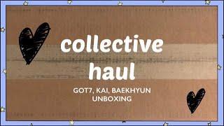 [COLLECTIVE HAUL] Unboxing Got7 갓세븐, Kai 카이, and Baekhyun 백현…