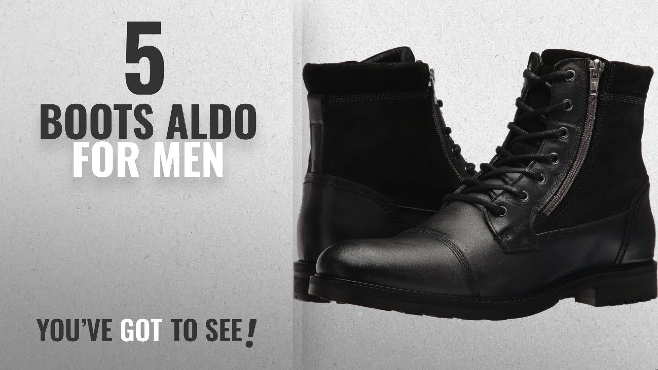 fb3266d3e84 Top 10 Boots Aldo [ Winter 2018 ]: Aldo Men's Lucio Ankle Boot ...
