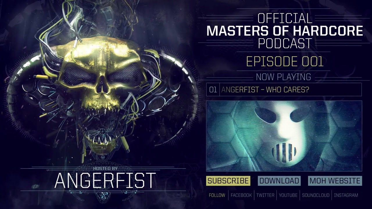 Angerfist - Masters of Hardcore Podcast #1