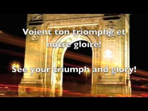 French National Anthem with lyrics