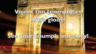 French National Anthem with lyrics
