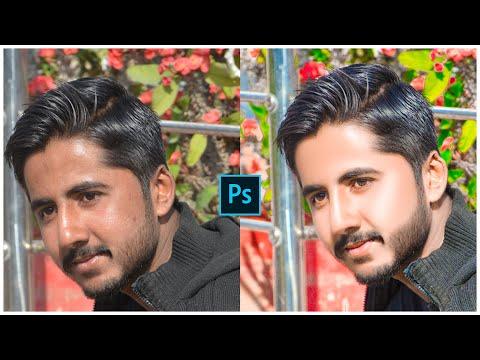 |Photoshop Editing | Easy Way to Best Outdoor Photo Skin Retouching |Photoshop Tutorial | thumbnail
