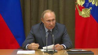 Владимир Путин Россия готова без предварительных условий продлить договор СНВ-3.