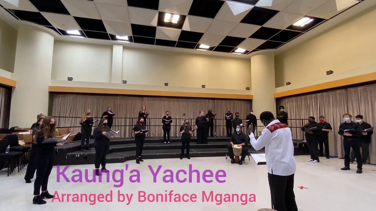 Download Kaung'a Yachee arr. Boniface Mganga