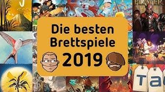 Die besten Brettspiele 2019 - Unsere Top 3 nach Kategorie