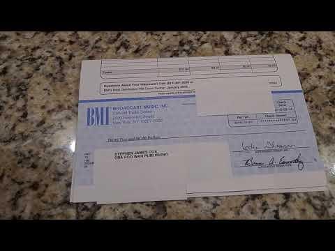 BMI Royalties for Publishing