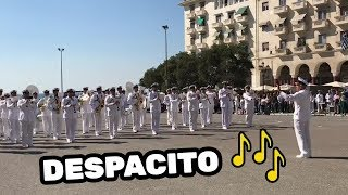 GREEK NAVY BAND PERFORM AMAZING DESPACITO COVER