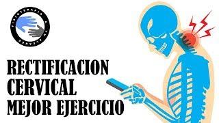 Descubre el mejor ejercicio para tratar la rectificacion cervical