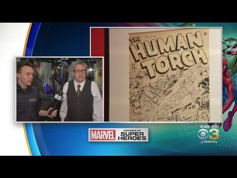 Marvel: Universe Of Super Heroes Opens At The Franklin Institute On Saturday